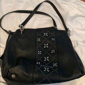 Black soft leather Michael Kors bag